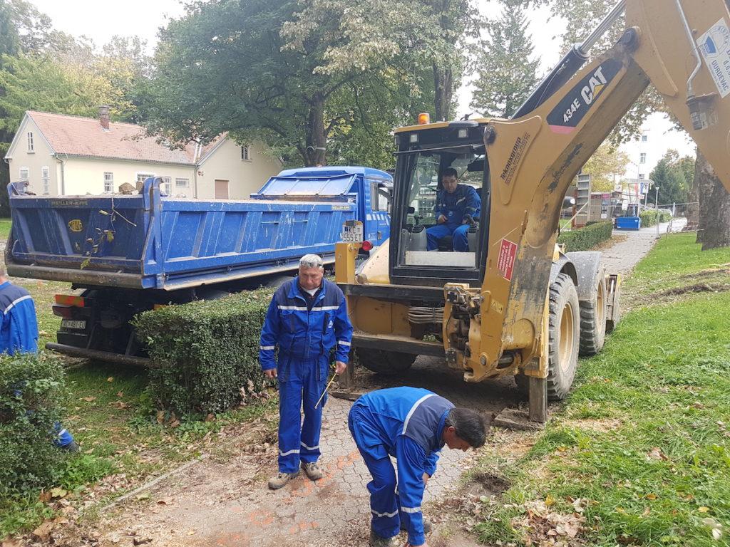 Revitalizacija gradskog parka u Virovitici